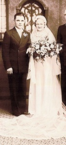 Leonard and Helen wedding photo
