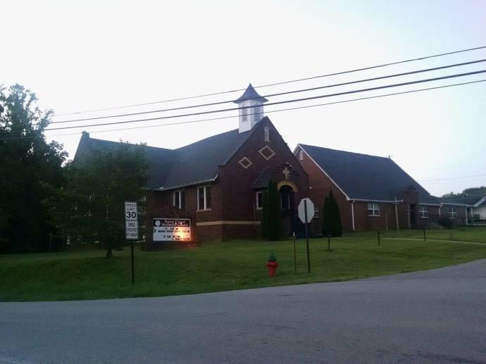 Baxter United Methodist Church - Baxter, TN {photo credit: Trish Kennedy}
